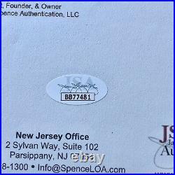 JOHN HANCOCK JSA LOA Handwritten Autograph Personal Letter To Wife Signed