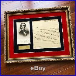 JOHN TYLER BAS LOA Handwritten Autograph 1832 Letter Signed President