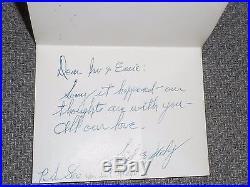 JUDY GARLAND Rare Signed Handwritten Personal Letter To Irv Kupcinet (KUP)