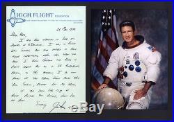 James Benson Jim Irwin APOLLO 15 autograph, handwritten letter signed