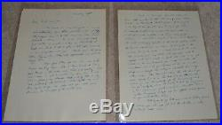 James Mccord Spy Letters Nixon Watergate Handwritten & Typed With Provenance