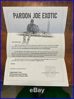 Joe Exotic Signed Hand Written Letter Autographed Psa Dna Coa Tiger King