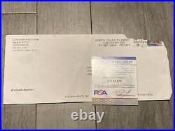 Joe Exotic Signed & Hand Written Prison Letter Long GRAPHIC Complaints PSA DNA