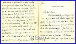 John D. Rockefeller Jr Hand Written Signed Autographed Letter Beckett BAS