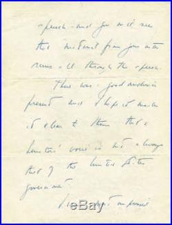John F. Kennedy Signed Autographed Hand Written Senate Letter Beckett/BAS