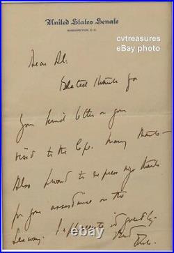 John Kennedy JFK Signed Autographed Handwritten Letter PSA Certified