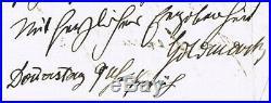 Karl Goldmark Autograph. Hand-written Letter