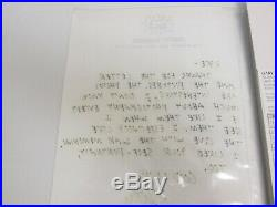 Keith Haring Original Hand Written And Signed Letter