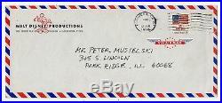 Ken Anderson, Disney Animator, Handwritten Letter, Petes Dragon Letterhead'78