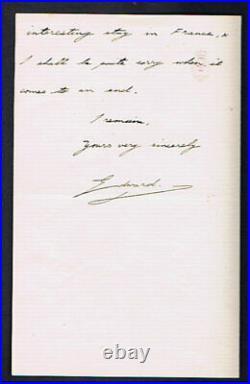 King Edward V111- 1912 Hand Written Autographed Letter
