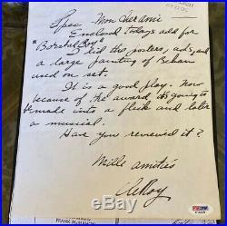 LEROY NEIMAN AUTOGRAPH Handwritten 2 Page LETTER SIGNED 05/23/1970. PSA/DNA