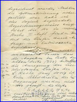 Manne Siegbahn NOBEL PRIZE autograph, handwritten letter signed