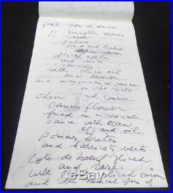 Marcel Marceau Hand Signed Handwritten 5 Page Letter JSA