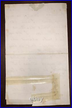 Marie Corelli Signed Letter, Handwritten & Autographed, 1901, Famous Author