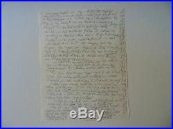 Medgar Evers Killer Byron De La Beckwith Hand Written Letter Todd Mueller COA