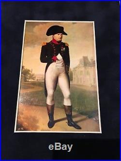 NAPOLEON BONAPARTE Signed 1806 Handwritten Letter Framed 1811 Deserters