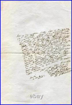 NATURALIST Alexander von Humboldt autographs, 11 handwritten letters signed