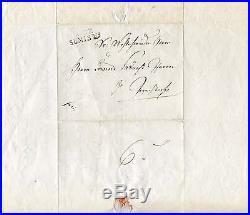 NOVELIST ALBERT BITZIUS Jeremias Gotthelf autograph, handwritten letter signed