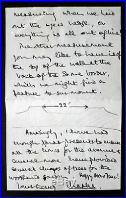 ORIGINAL Prince Charles signed autograph handwritten letter SANDRINGHAM NORFOLK