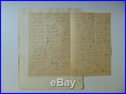 Poet Mary Ainge de Vere (Madeline S. Bridges) Hand Written Letter Mueller COA