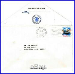 President Bush hand written signed letter on Air Force 2 stationary