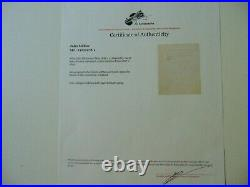 Prime Minister of France Jules Méline Hand Written Letter JG Autographs COA