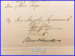 Queen Victoria Hand Written & Signed Letter Buckingham 10.5 x 17.5 (JSA COA)