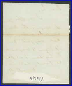 RALPH WALDO EMERSON (1803-1882) signed handwritten letter PSA/DNA LOA