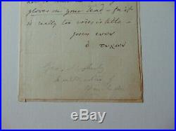 RARE! Bishop of Salisbury George Moberly Hand Written Letter Todd Mueller COA