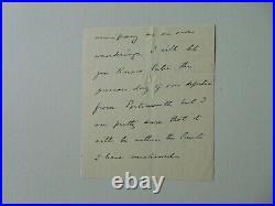 RARE! Chancellor Exchequer Reginald McKenna Hand Written Letter JG Autographs