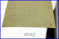 RARE Charles Dickens Autographed/Handwritten Letter on Gads Hill Letterhead 1860
