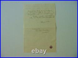 RARE! French Architect Henri Marchal Hand Written Letter Todd Mueller COA
