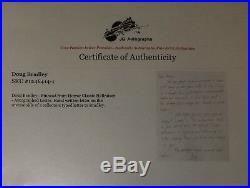 RARE! Hellraiser Doug Bradley Hand Written Letter JG Autographs COA