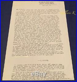 RARE! LONG HANDWRITTEN & SIGNED LETTER BY R. CRUMB 1997 withSubject Publication