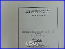 RARE! Nobel Prize in Economics Lawrence Klein Hand Written Letter Todd Mueller