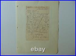 RARE! Poet Julia Zitella Cocke hand Written Letter Todd Mueller COA