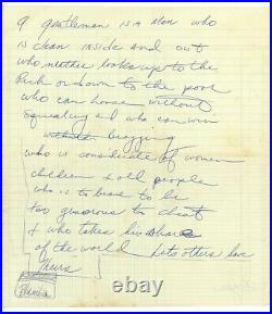 ROCKY MARCIANO handwritten AUTOGRAPH LETTER BOXING PSA/DNA Incredible Content