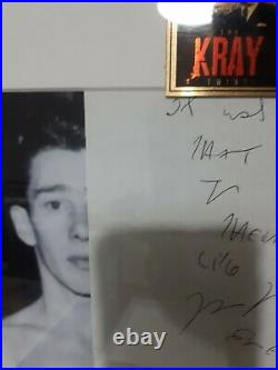 Reg Kray Letter Hand Written Original London Gangster