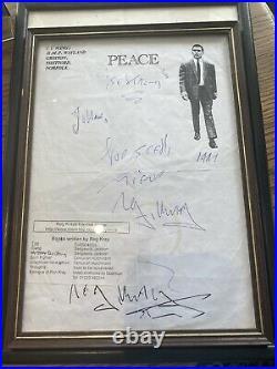 Reg Kray Original Handwritten / Signed Letter From Prison