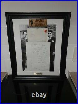 Reg Kray The KRAYS Hand Written Letter Autograph Envelope London Gangster