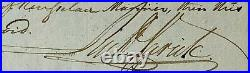Richard Varick Autograph Signed The Forgotten Founding Father Handwritten letter