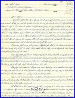 Robert Stroud Birdman of Alcatraz Signed Autographed Hand Written Letter PSA/DNA