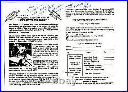 Ron Evans Autograph Hand Written Letter and 3 Signed Notes NASA Apollo 17 COA