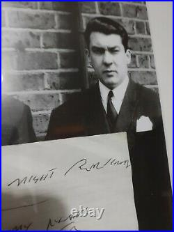 Ron Kray Hand Written Letter Signed Autograph The Krays London Gangster