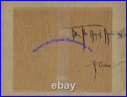 Rose O'Neill handwritten & illustrated Viking themed letter Kewpie inventor