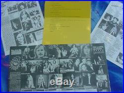 Scorpions, Rudolf Schenker Handwritten Letter/autograph, 1977, Meine, Roth, Buchholz