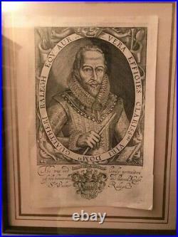 Sir Walter Raleigh ALS Handwritten Signed Letter, Jersey Governor, December 1601