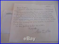 Steve Ditko Hand Written Signed Letter with envelope Autographed Autograph Auto