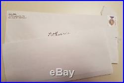 Steve Ditko Handwritten Letter Signed Autographed Signature Spiderman Dr Strange