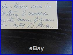The Gates Ajar Elizabeth Stuart Phelps Ward Hand Written Letter Todd Mueller